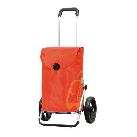 Pepe arancio rimorchio bici