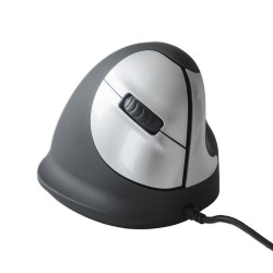 HE mouse ergonomico verticale, medio, DX